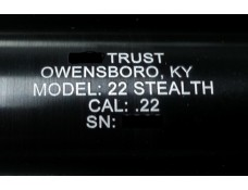 Suppressor Tube Engraving